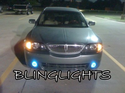 2004 2005 2006 Lincoln LS & LSE Xenon LED Fog Lamps Bumper Driving Lights foglamps foglight kit