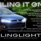 2011 2012 2013 Scion tC LED DRL Light Strips Day Time Running Lamps Lights for Headlamps Headlights