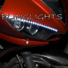 Yamaha R6 YZF-R6 LED DRL Strips for Headlamps Headlights Head Lamps Day Time Running Strip Lights