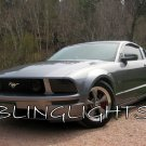 Ford Mustang Tinted Smoked Protection Overlays for Headlamps Headlights Head Lamps Lights ALL YEARS