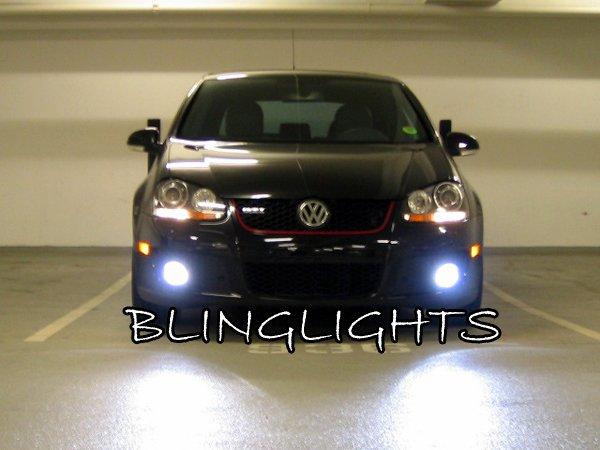 2003 2004 2005 2006 2007 2008 2009 Volkswagen VW Rabbit Golf Mk5 MkV LED Foglamps Fog Lamps Lights