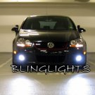 2003 2004 2005 2006 2007 2008 2009 Volkswagen VW Rabbit Golf Mk5 MkV LED Foglamps Fog Lamps Lights