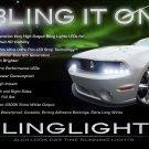 Ford Mustang LED DRL Strip Lights for Headlamps Headlights Day Time Running Head Lamps Strips DRLs