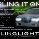 Chrysler 300 300C LED DRL Light Strips for Headlamps Headlights Day Time Running Lamps Strip Lights