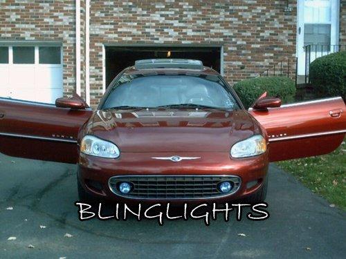 2001 2002 2003 Chrysler Sebring Coupe Halo Fog Lamps Lights