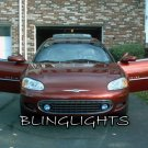 2001 2002 2003 Chrysler Sebring Coupe Halo Fog Lamps Angel Eye Driving Lights Foglamps Foglights Kit