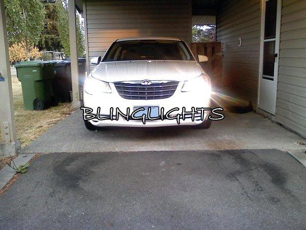 2007 2008 2009 2010 Chrysler Sebring Bright Light Bulbs for Headlamps Headlights Head Lamps