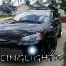 2001 2002 2003 Chrysler Sebring Sedan Blue LED Fog Lamps Driving Lights Foglamps Foglights Kit