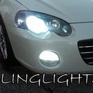 2001 2002 2003 2004 2005 2006 Chrysler Sebring White Bulbs for Headlamps Headlights