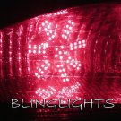 2001 2002 2003 2004 2005 2006 Chrysler Sebring Convertible LED Bulbs for Taillamps Taillights