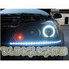 Holden Viva JF LED DRL Light Strips Headlamps Headlights Head Lamps Day Time Running Strip Lights