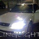 1995 1996 1997 1998 ACURA TL White Bulbs for Headlamps Headlights Head Lamps Lights