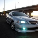 1999 2000 2001 Acura TL Fog Lamps Driving Lights Kit Xenon Foglights Drivinglights Foglamps