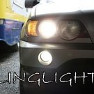 1999-2006 BMW E53 X5 Low Beam White Light Bulbs Headlamps Headlights Head Lamps Lights Lamps