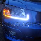 2003-2008 Subaru Forester LED DRL Head Lamp Light Strips Kit