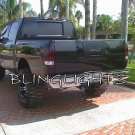 Nissan Titan Murdered Out Taillight Covers Taillamp Smoked Overlays