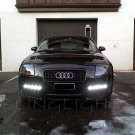 Audi TT LED DRL Light Strips for Headlamps Headlights Head Lamps Day Time Running Strip Lights DRLs