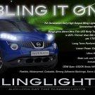 Nissan Juke LED DRL Head Lamp Strips Day Time Running Lamp Kit