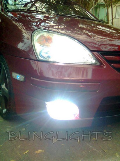2005 2006 2007 Suzuki Aerio Fog Lamp Driving Light Kit Sedan Xenon