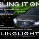 Nissan Quest LED DRL Head Light Strips Day Time Running Lamp Kit