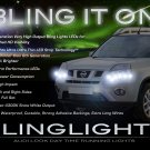 Nissan X-Trail LED DRL Head Lamps Strip Lights Kit Xtrail Day Time Running Strips
