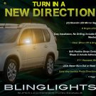 Nissan X-Trail Xtrail LED Side Mirrors Turnsignals Lights Mirror Turn Signals Lamps Signalers