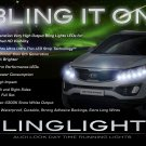 Kia Sportage LED DRL Light Strips for Headlamps Headlights Head Lamps Day Time Running Strip Lights