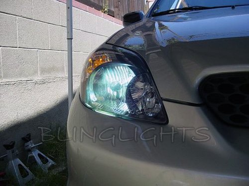 Toyota Matrix Bright White Bulbs for Headlamps Headlights Head Lamps Lights