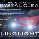 2007 2008 2009 Mitsubishi Outlander LED Foglamps Foglights Fog Lamps Driving Lights Kit