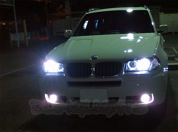 BMW X3 e83 f25 Bright White Low Beam Light Bulbs for Headlamps Headlights Head Lamps Lights
