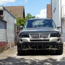 BMW X3 e83 f25 Tint Film Headlamps Headlights Head Lamps Lights Smoked Protective Film Overlays Tint