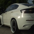 BMW X6 Tinted Smoked Taillamps Taillights Overlays Film Protection