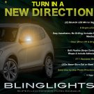 BMW X3 e83 f25 LED Side Mirrors Turnsignals Mirror Turn Signals Signalers Lights Accent Lamps