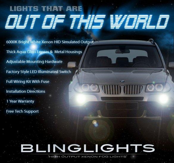 2006-2010 BMW X3 Xenon Fog Lamp Driving Light Kit e83