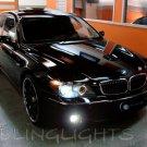 2006 2007 2008 BMW 7 Series E65 E66 LED Foglamps Foglights Driving Fog Lamps Lights Kit