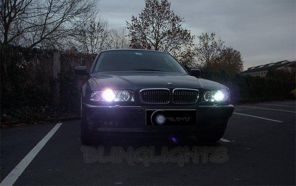 1994-2001 BMW 7 Series E38 Light Bulbs Low Beams Halogen Headlamps Lows Headlights Head Lamps Lights