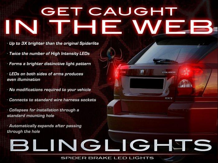 Dodge Caliber Custom LED Tail Lamp LED Light Bulbs Pair Spider Set