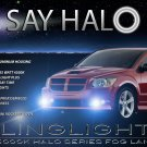 2008 2009 Dodge Caliber SRT-4 SRT4 Halo Angel Eye Foglamps Foglights Driving Fog Lamps Lights Kit