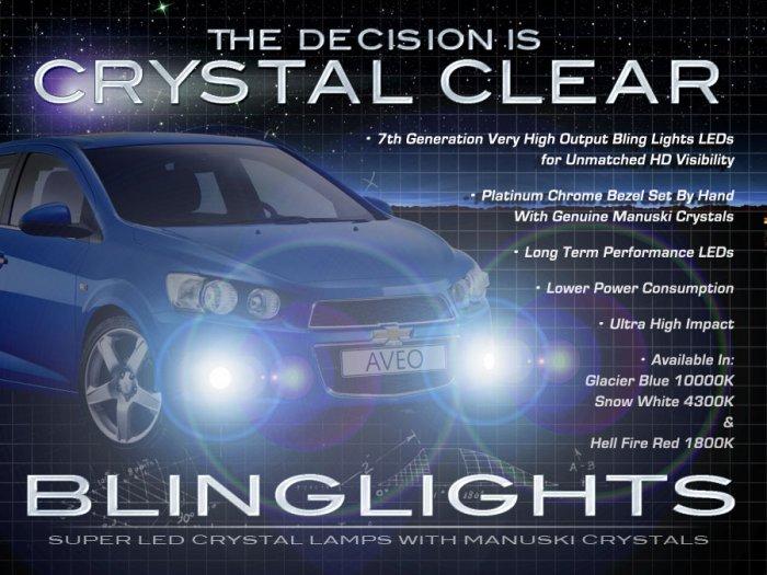 2012 2013 2014 Chevy Aveo LED Fog Lamp Light Kit LED Drivinglights