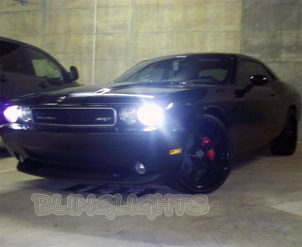 2008 2009 2010 2011 2012 Dodge Challenger OEM Headlamps Headlights Replacement Xenon HID Light Bulbs