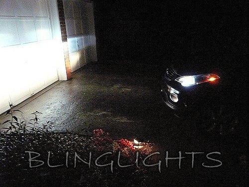 2008 2009 2010 2011 Infiniti EX35 Light Bulbs for Halogen Headlamps Headlights Head Lamps Lights