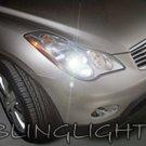 2008 2009 2010 2011 Infiniti EX35 Xenon Light Bulbs for HID Headlamps Headlights Head Lamps Lights
