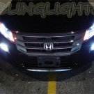 Honda Accord Crosstour Bright White Headlamp Light Bulbs Set