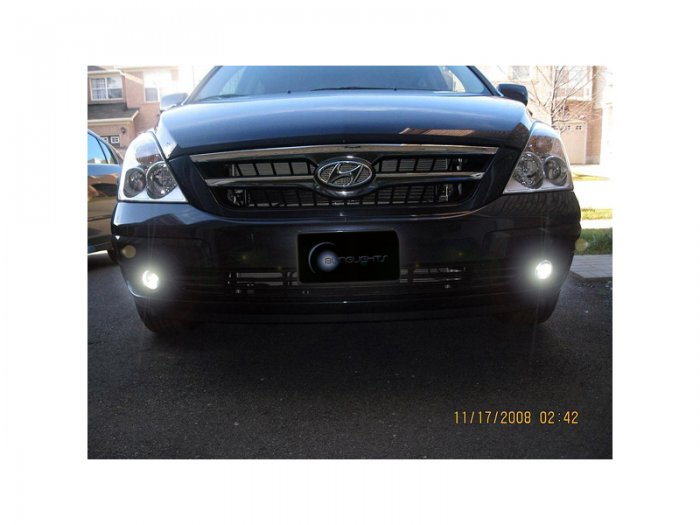 2007 2008 2009 Hyundai Entourage Xenon Foglamps Foglights Driving Fog Lamps Lights Kit