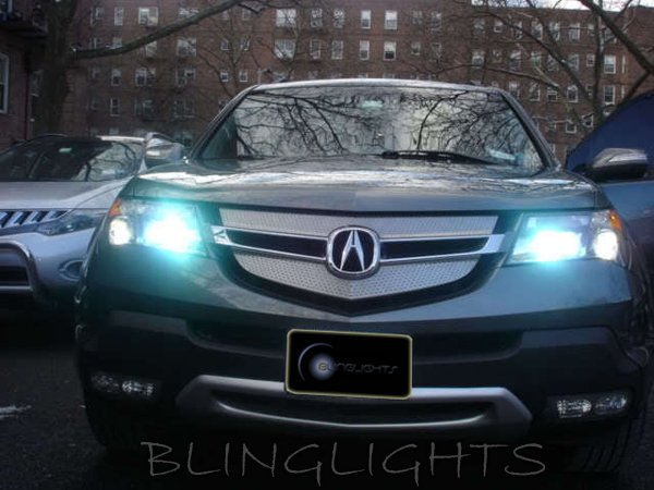2007-2012 Acura MDX Xenon HID Replacement Light Bulbs Headlamps Headlights Head Lamps Lights Lows