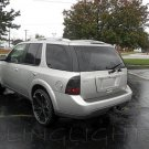 Saab 9-7X Tinted Smoked Taillamps Taillights Overlays Film Protection