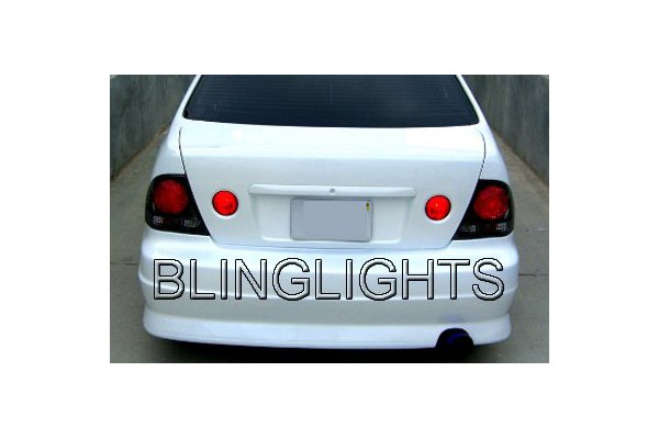 2001-2005 Lexus IS IS200 IS300 Tinted Smoked Protection Overlays for Taillamps Taillights