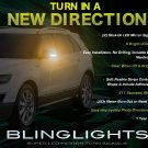 Saab 9-4X 94X LED Side Mirror Turnsignals Markers Turn Signals Lights Signalers Lamps LEDs Mirrors