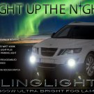 2011 Saab 9-4X Xenon Fog Lamps Driving Lights Kit