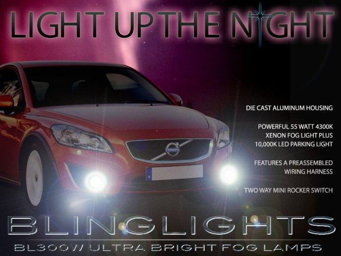 2007-2013 Volvo C30 Xenon Fog Lamps Driving Lights Kit